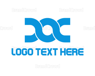 Chain - Blue Doc logo design