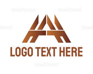 Carpenter - Gold Tech A logo design