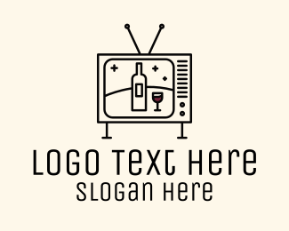 Tv Show - Wine Television Media logo design