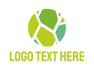 Stone - Green Tiles logo design
