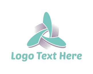 Propeller - Propeller Triangle logo design