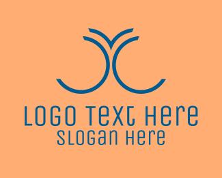 Curve - Abstract Digital Letter C logo design
