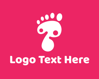 Childcare - Foot logo design