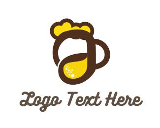 A Beer Logo