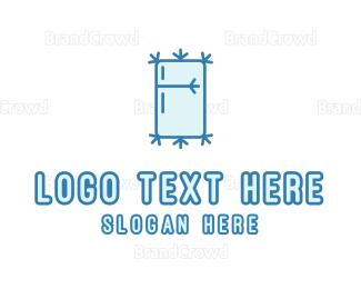 Chill - Icy Fridge logo design