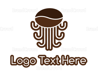 Octopus - Octo Coffee logo design