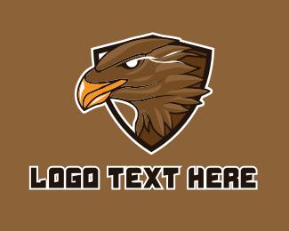Team - Eagle Gaming Sports Mascot  logo design