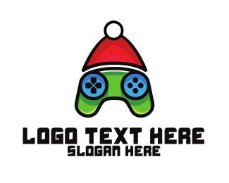 Gamer - Christmas Gamer  logo design