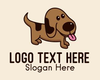 Nose - Brown Puppy Dog logo design