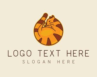 Orange - Orange Fat Cat logo design