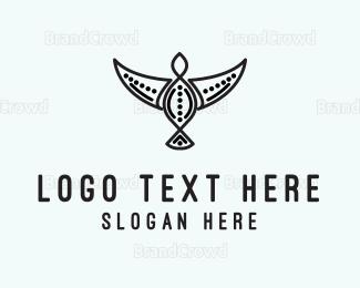 Craft - Tribal Bird logo design