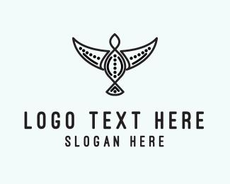 Tribal - Tribal Bird logo design