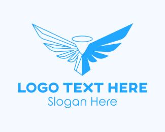 Evangelist - Blue Angel  logo design