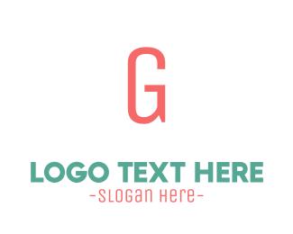 Coral - Coral Letter G logo design