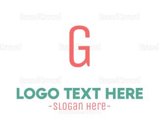 Letter G - Coral Letter G logo design