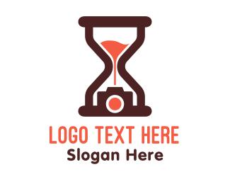 Hourglass - Hourglass Photography logo design
