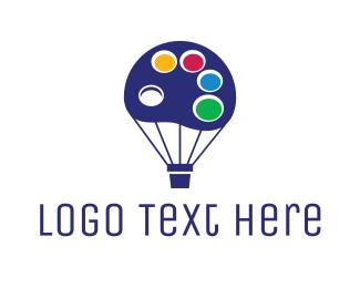 Color - Color Palette Balloon logo design