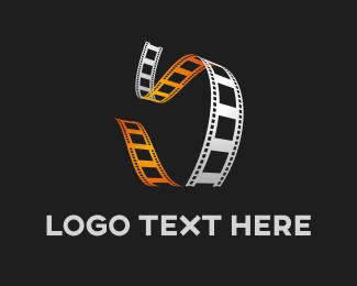 Theater - Film Reel logo design