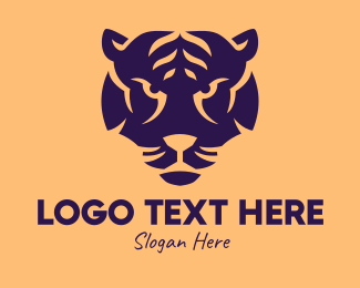 Big - Big Cat Mascot  logo design