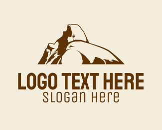 Hiking - Nature Hiking Boulder logo design