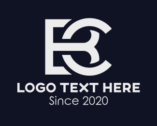 Letter - Elegant BC Monogram logo design