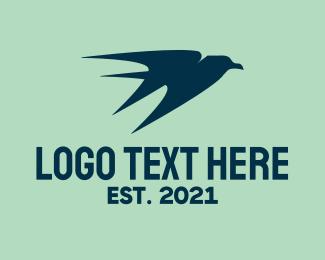 Aviation - Blue Airline Aviation logo design