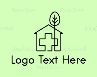 Gardener - Tree & Hospital logo design