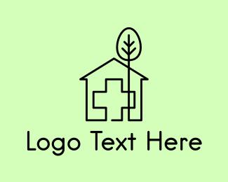 Arborist - Tree & Hospital Medical Doctor logo design