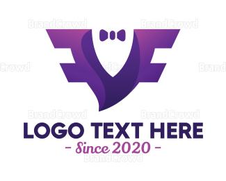 Coat - Wing Formal Wear logo design