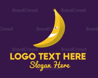 Banana - Banana Cartoon logo design