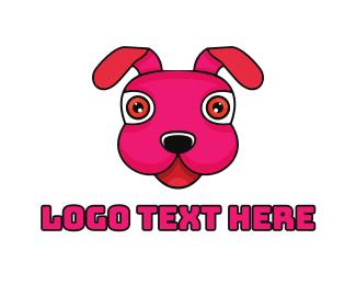 Puppy - Stuffed Toy Puppy logo design