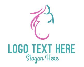 Mum - Pregnant Woman logo design