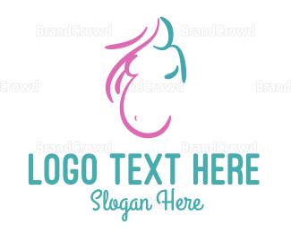 Woman - Pregnant Woman logo design