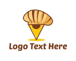 Baker - Chef Locator logo design
