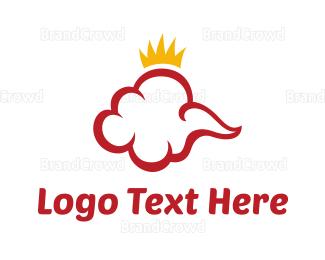 Crown - Red Cloud Crown logo design