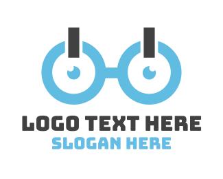 Geek - Geek On Glasses logo design