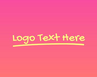 Fancy - Fancy Vibrant Wordmark logo design