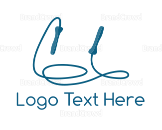 Jump - Jump Rope logo design