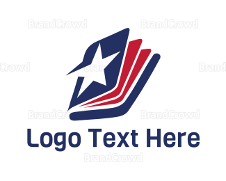 Editor - Star Book logo design