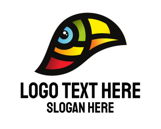Macaw - Toucan Bird Conservation logo design