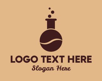Coffee Bean - Coffee Bean Laboratory logo design