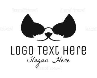 Sunglasses - Cat Sunglasses logo design