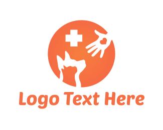 Vet - Pet Hospital logo design