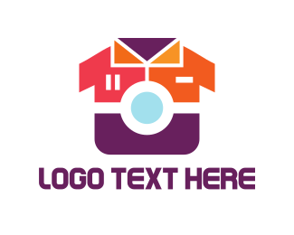 T-shirt - Fashion Camera logo design