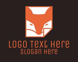 """""""Orange Fox Paper """" by Mypen"""