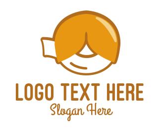 Hong Kong - Fortune Cookie logo design