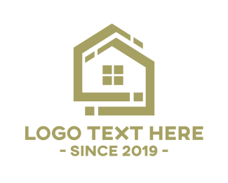 Golden - Golden House logo design