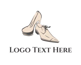 Shoe - Elegant Footwear logo design
