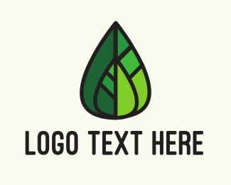 Skin Care - Leaf Mosaic logo design