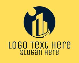 Night - Night City logo design